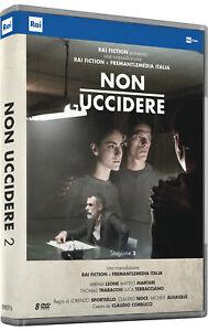NON-UCCIDERE-2-6-DVD-COFANETTO-SERIE-TV
