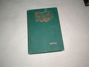 Antique-Vintage-1896-book-American-amp-British-Authors-by-Frank-V-Irish