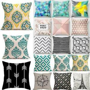 Garden-Geometric-Prints-Cushion-Ocean-World-Pillow-Case-Cover-Seat-Bench-Outdoor