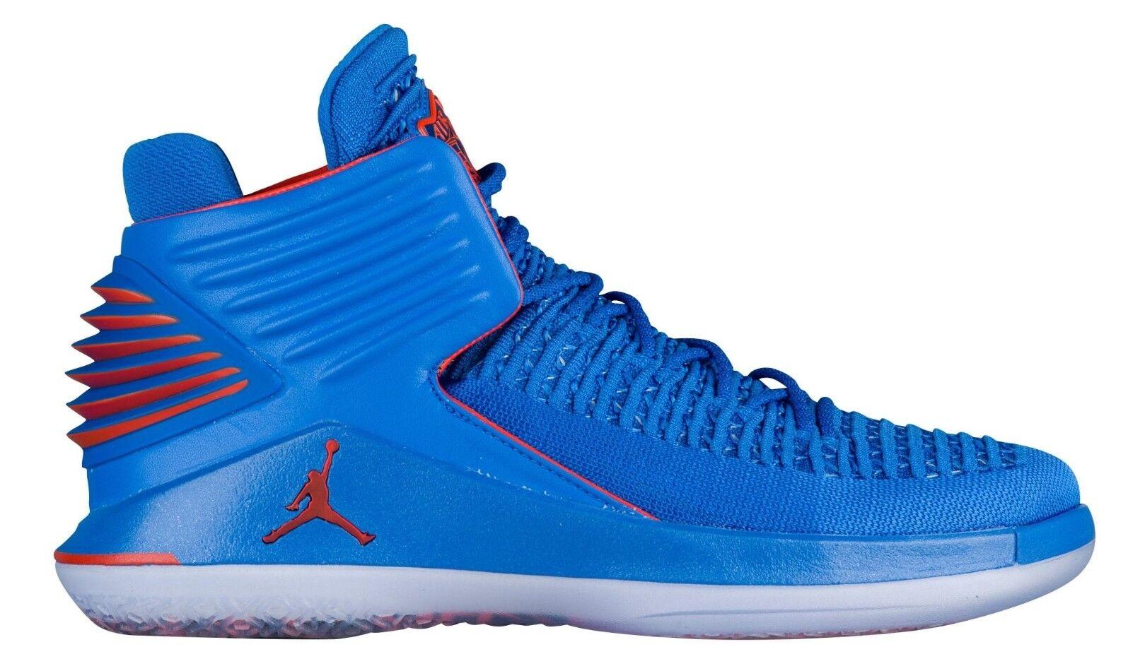 Air Jordan 32 XXXII Russ AA1253-400 Signal Signal Signal blu arancia Basketball scarpe Dimensione 10 f32f5b