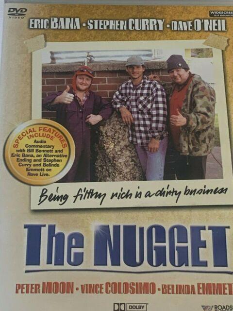 The Nugget - Eric Bana Peter Moon Belinda Emmett DVD Like New