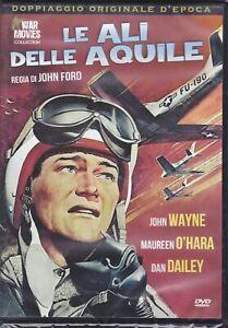 Dvd **LE ALI DELLE AQUILE** di John Ford con John Wayne nuovo 1957