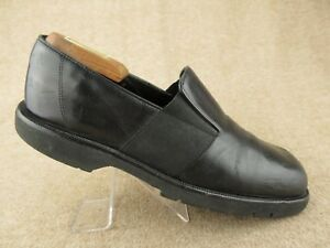 f79af488363fb Image is loading DONALD-J-PLINER-Black-Stretch-Loafers-Sz-9-