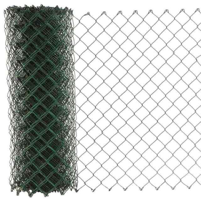Maschendraht PVC grün 60x2,8x800 15 m Baumkuchenwicklung PVC grün RAL 6005 REW
