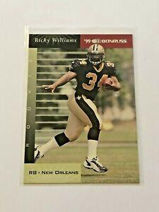 1999 Donruss Football Rookie Card - Ricky Williams RC - New Orleans Saints