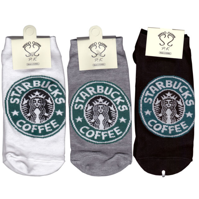 Starbucks Socks Low ankle socks for Man 3 Pair of socks ship:2.35