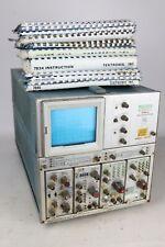 For Partsrepair Vintage Tektronix 7704a Oscilloscope Cb Ham Radio Manuals