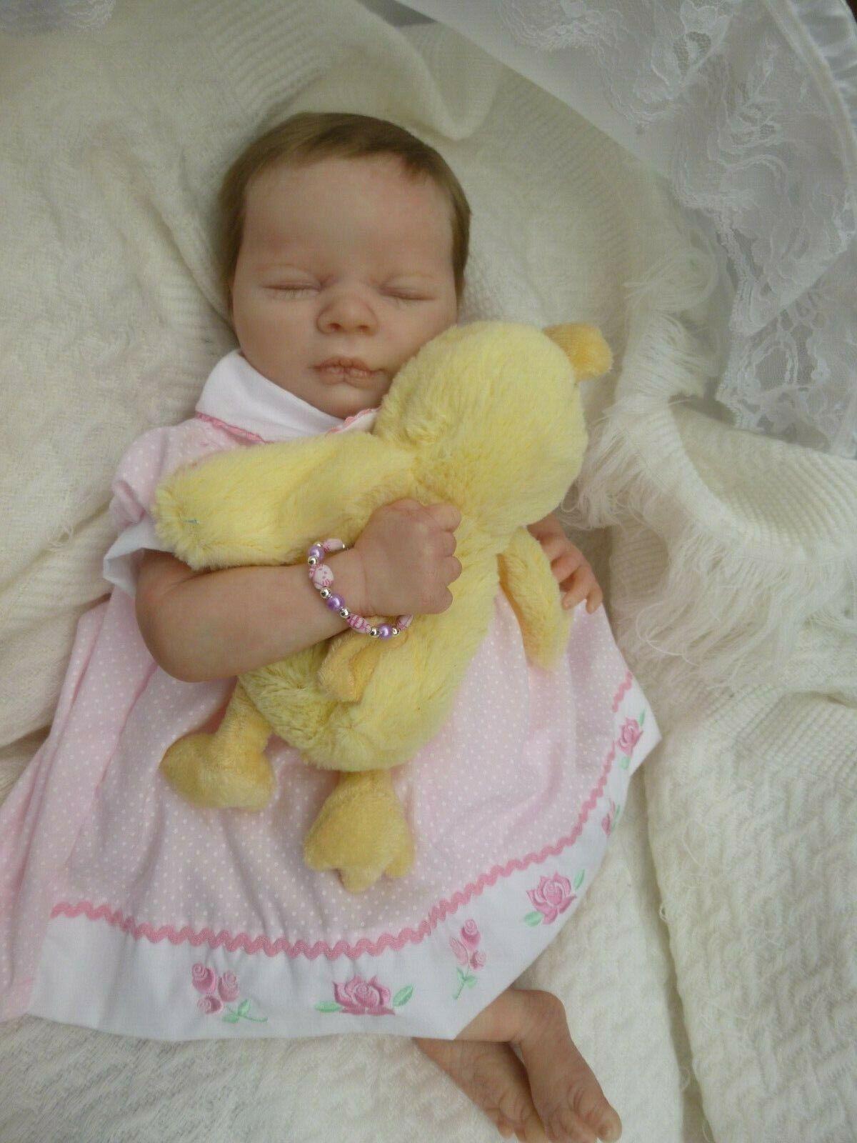 KATIE A PRETTY LITTLE REALBORN BABY GIRL