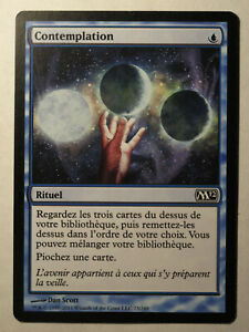 Contemplation-Ponder-MTG-Magic-Francais