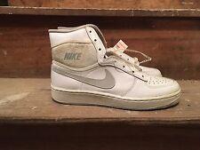 1985 Nike Court Force Hi Sz 9.5 White DS OG Jordan Vintage
