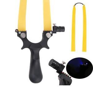Slingshot-Schleuder-Profi-Zwille-Pocket-Katapult-Sportschleuder-Hilfslichtquelle