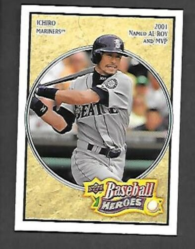 ICHIRO SUZUKI 2008 Upper Deck Baseball Heroes #152 SEATTLE MARINERS