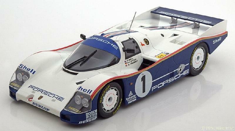 NOREV 187400 187402 187403 187404 PORSCHE 962 model race cars Spa Le Mans 1 18