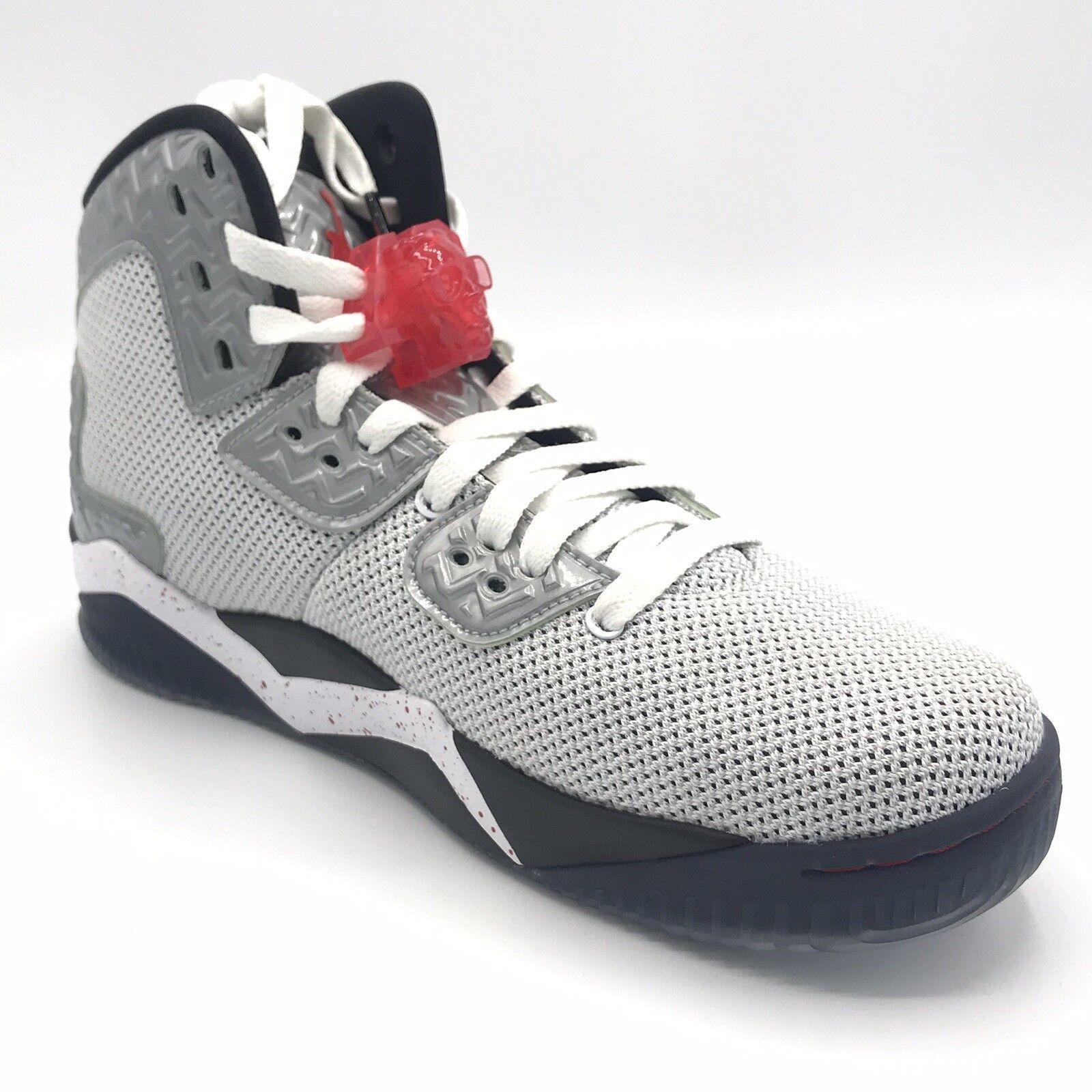 Jordan Spike Forty PE Mens 807541-101 Weiß Fire rot Basketball schuhe Größe 8