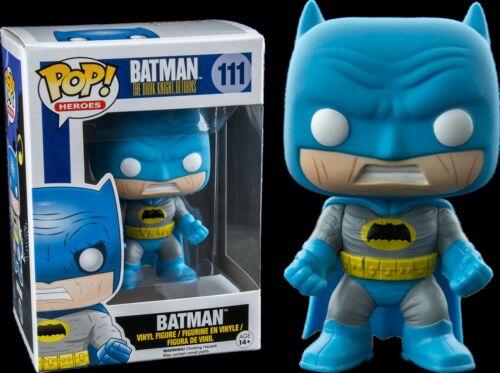 Vinyl Figure The Dark Knight Return Costume Bleu Funko Batman #111 POP