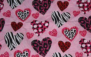 NEW-Scrubs-Print-Scrub-Top-XL-Wild-Hearts