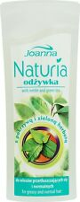 JOANNA NATURIA Hair Conditioner with Nettle&GreenTea for greasy/normal hair 100g
