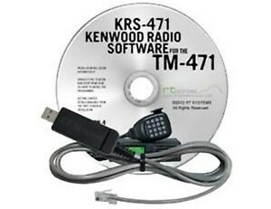 Details about RT Systems KRS-471 Programming Software and USB-K5D Cable for  the Kenwood TM-471