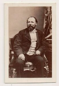 Vintage-CDV-King-William-III-of-the-Netherlands