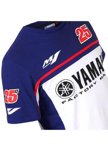 Official Maverick Vinales Dual Yamaha T/'Shirt YVMTS 276003