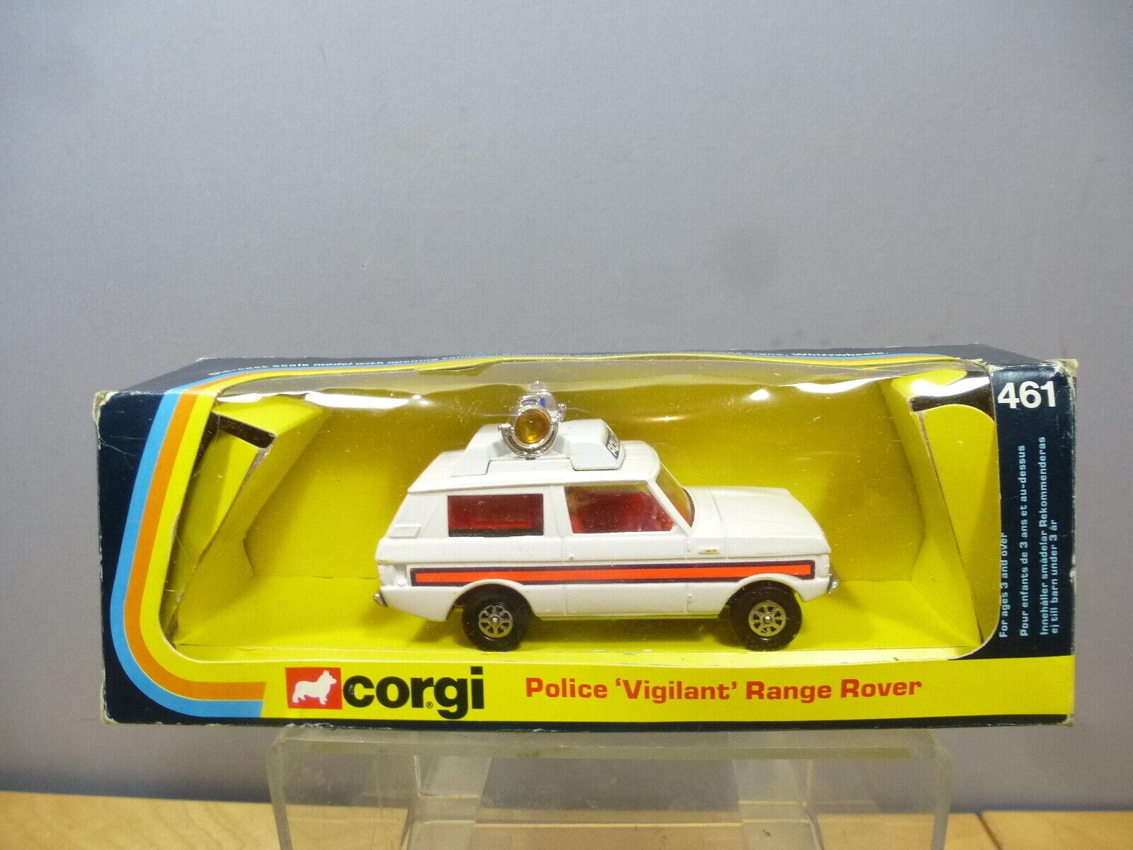 CORGI TOYS MODEL No.461 POLICE VIGIpurpleNT    RANGE ROVER  VN MIB 899008