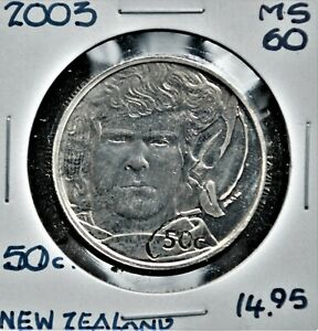 2003 New Zealand 50 cents 'Merry' Lord of the Rings