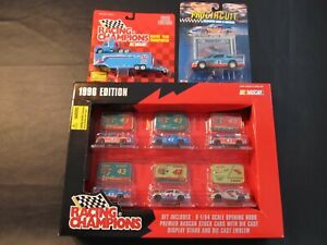 RICHARD-PETTY-RACING-NASCAR-DIE-CAST-COLLECTIBLE-CARS-LOT-OF-3-1996