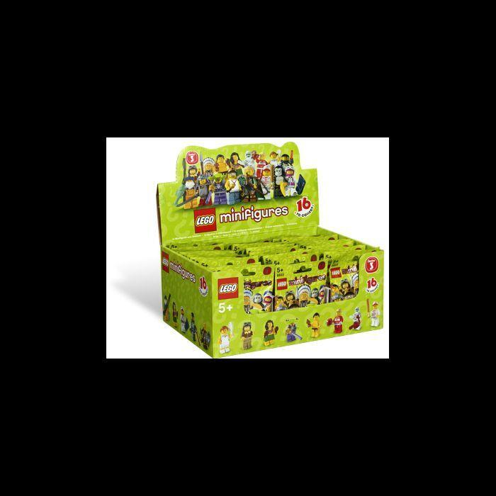 Scellé Lego 8803 8803 8803 Boîte   Boîte de 60 Mini Figurines Série 3 09eda0