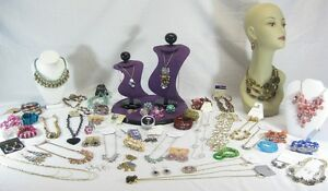 Big-10-Pc-Below-Wholesale-Mixed-Fashion-Jewelry-Lot-High-Ticket-Value-Grab-Bag