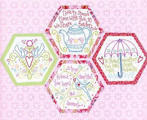 Best-Friends-Forever-1-stitchery-BOM-hexagons-PATTERN-preprinted-fabric