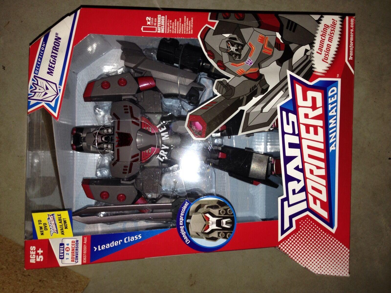 Transformers Animated Leader Decepticon G1 Deco Megatron New Sealed