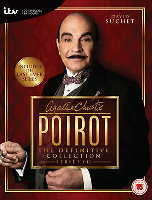 1 of 1 - Poirot - Series 1-13 - Complete (DVD, 2013, 35-Disc Set, Box Set) VGC