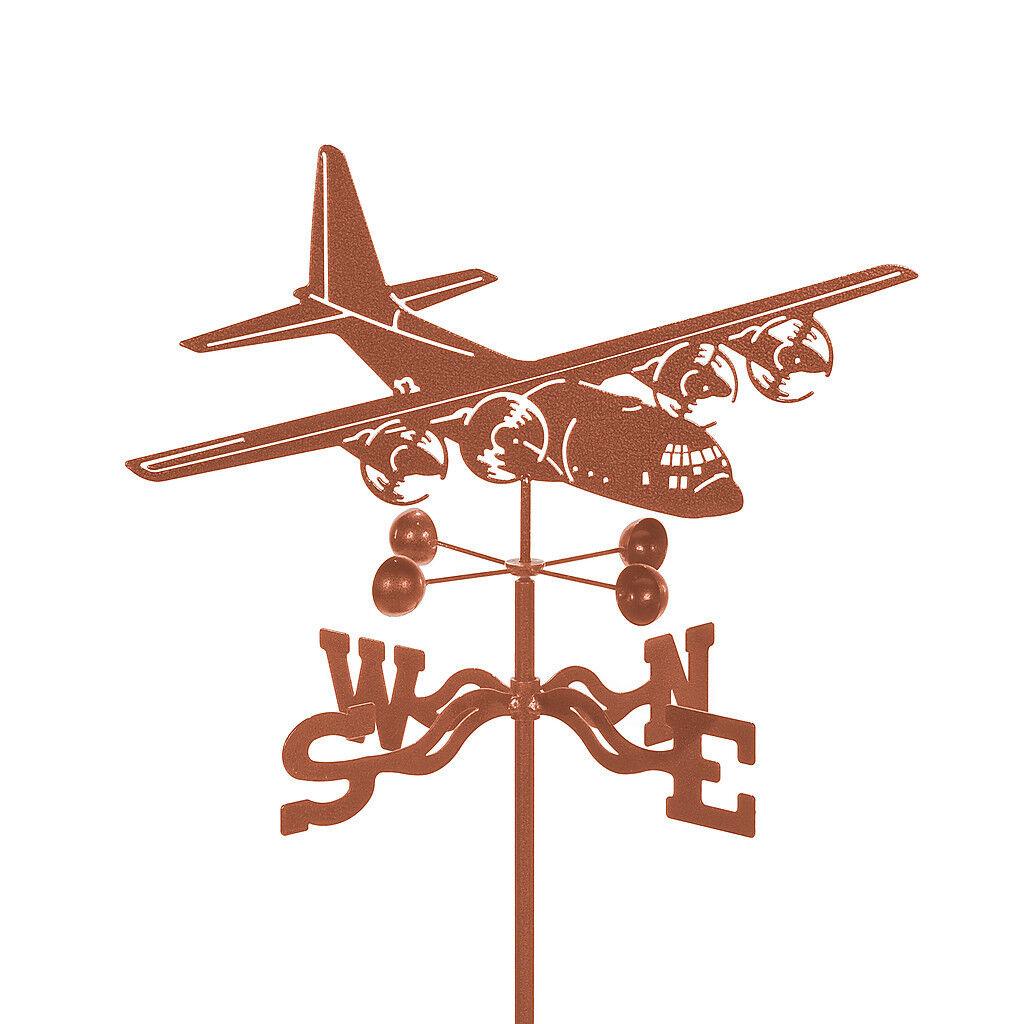 C-130 Airplane Weathervane - Hercules - Plane Lockheed Martin LM C-130J Vane