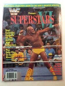 WWF-Presents-Magazine-1991-SUPERSTARS-VI-HULK-HOGAN-LIMITED-EDITION-WCW-nWa-WWE