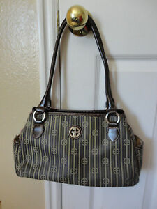 Image Is Loading Giani Bernini Olive Brown Forest Green Leather Women