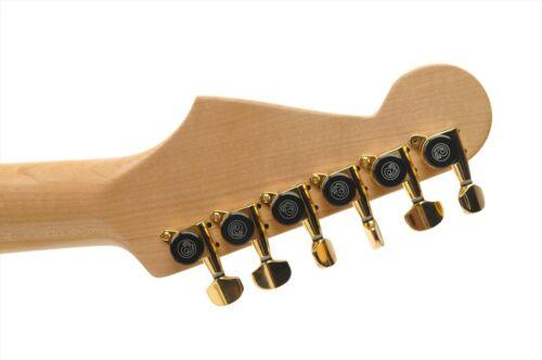 PWAT-6R3 6 in-line Gold.Hi Quality D/'Addario Auto-Trim Tuning Machines