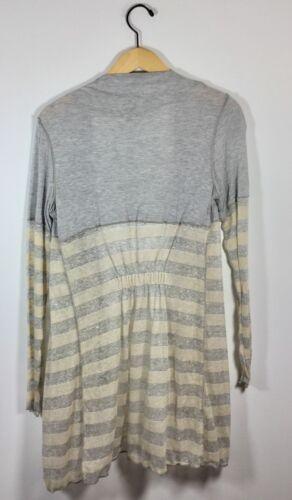106 motivo grigio jersey con grigio aperto cerniera avorio anteriore Cardigan con da f0PwqgW