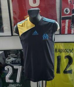 Maillot jersey shirt maglia camiseta trikot om Marseille noir 2010 2011 ayew L