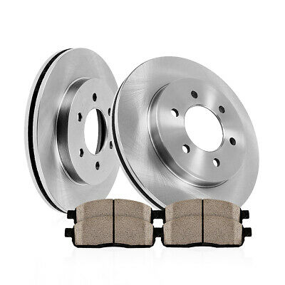 2007 Fit Toyota Tacoma w//6 Lug Rotor Max Performance Ceramic Brake Pads F