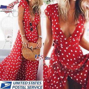 Womens-Summer-Boho-Long-Maxi-Evening-Party-Cocktail-Dress-Beach-Dresses-Sundress