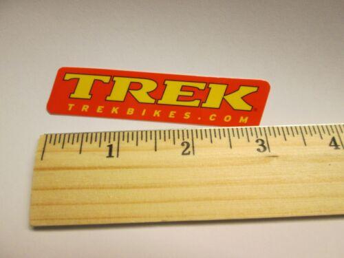 Free Shipping TREK BICYCLES  Red Yellow Bike Road Tri Mountain Sticker Decal