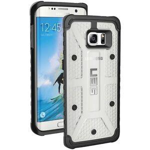 new style 032ed 4b86a Details about Samsung Galaxy S7 Edge UAG Urban Armor Gear Case - Ice/Black