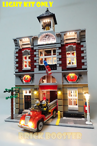 USB Powered LED Light Kit for Lego 10197 Fire Brigade
