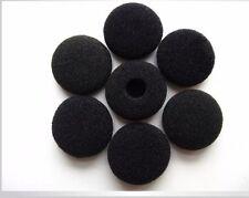 10 Pairs 13-18mm Black Foam Cushion Ear Pad Cover Earphone Headphone Earbud