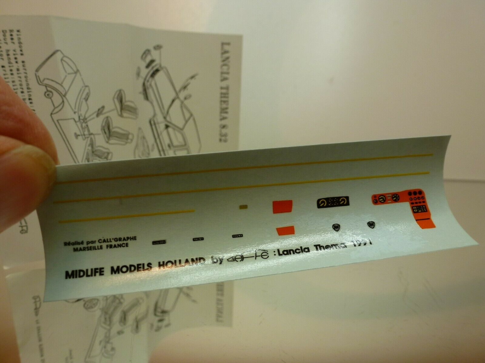MIDLIFE MODELS GAFFE LANCIA THEMA 8.32 - 1 43 43 43 UNBUILT CONDITION IN BOX d3f00d