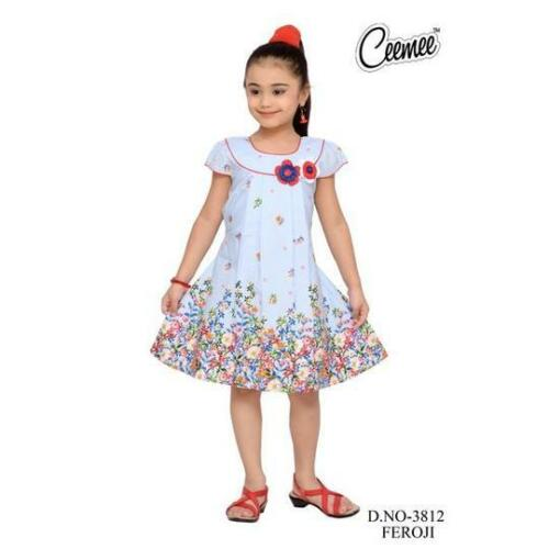 Filles Casual Coton Robe//jupe Formal Indian Asiatique Style