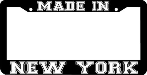 MADE IN NEW YORK NY License Plate Frame