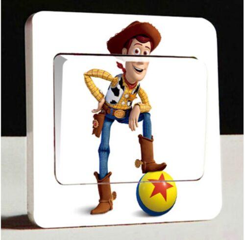 UK Light Commutateur Toy Story Woody Vinyle Sticker Décalque