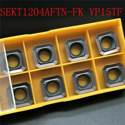10*SEKT1204AFTN-FK VP15TF SEKT42AFN  for steel stainless steel carbide inserts