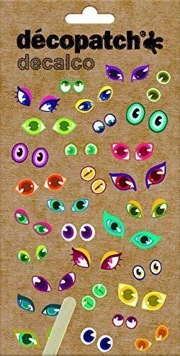 Decopatch Eye Transfers Decalco